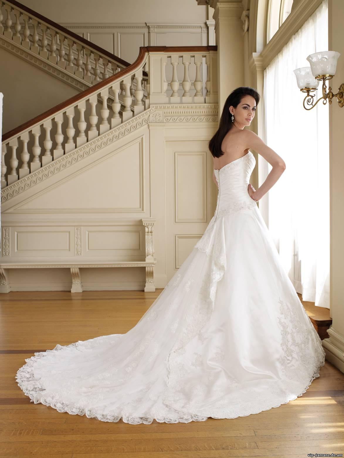 Как сделать шлейф своими руками на свадебное платье 58