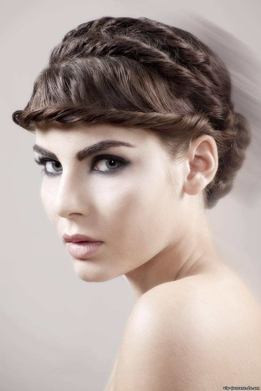 Плетение кос на себе видео уроки бесплатно